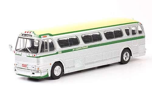 Autobuses Del Mundo. Gmc Coach. Brasil. Escala 1/72