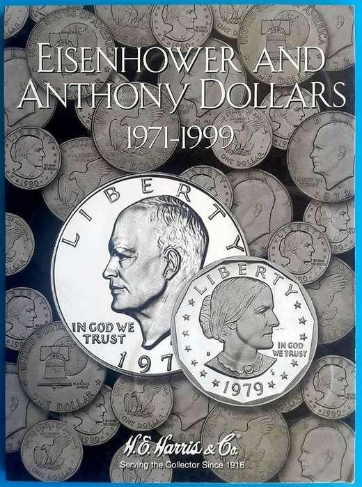Colección de Monedas de 1 Dólar 1971 a 1999