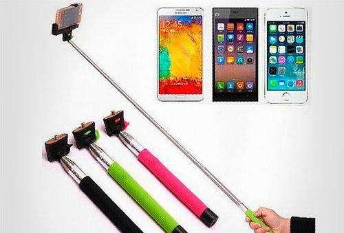 Selfie Monopod Wireless Extendible Para Ios Y Android
