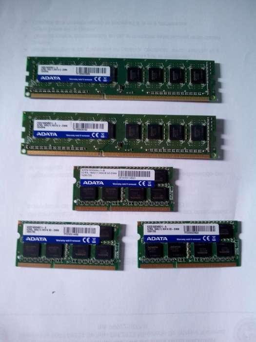 Memorias para PC y Portátiles de marca ADATA