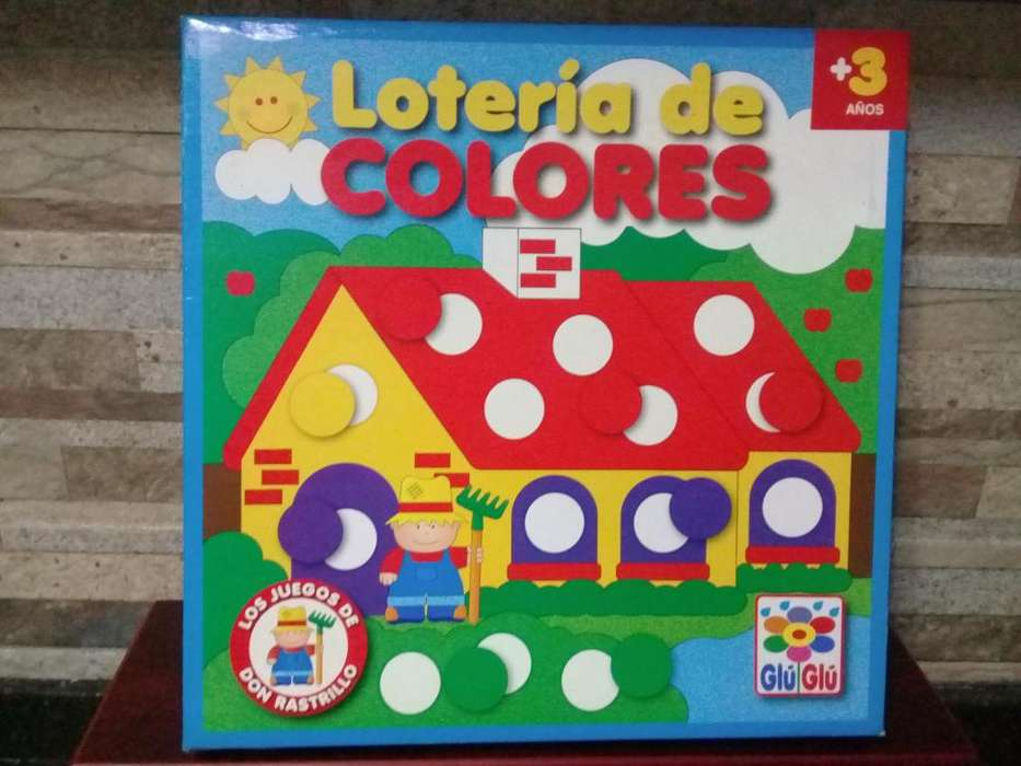 vendo Loteria de colores Ruibal