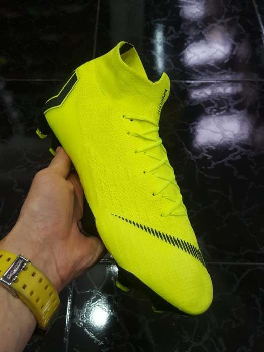 Guayos Nike Superfly Verdes
