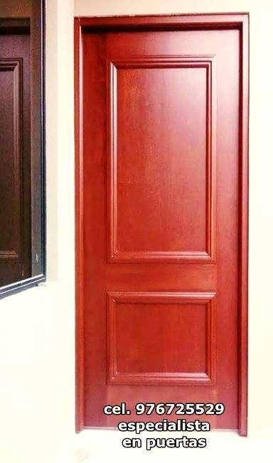 Se confecciona puerta a medida, pago contra entrega