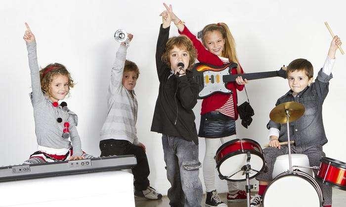 Educación Musical para niños de 3 a 6 años de edad