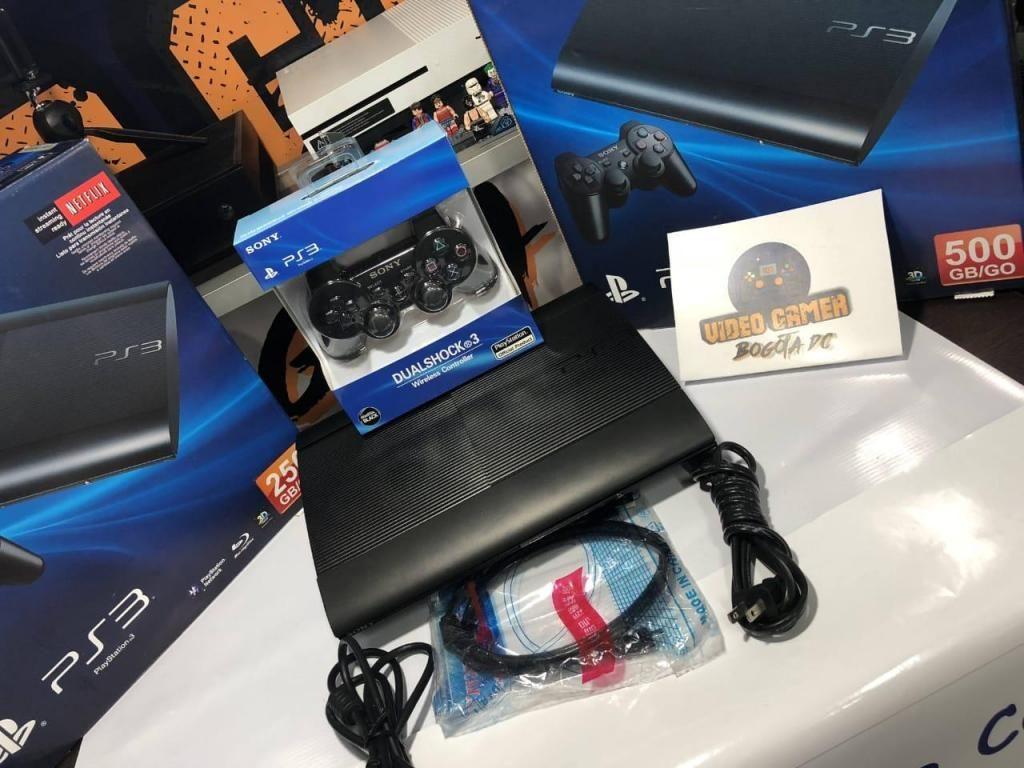 Consola PlayStation 3 Ultra slim 500gb, garantía 3 meses