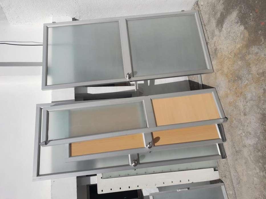 Puertas de Vidrio, Aluminio Y Madera