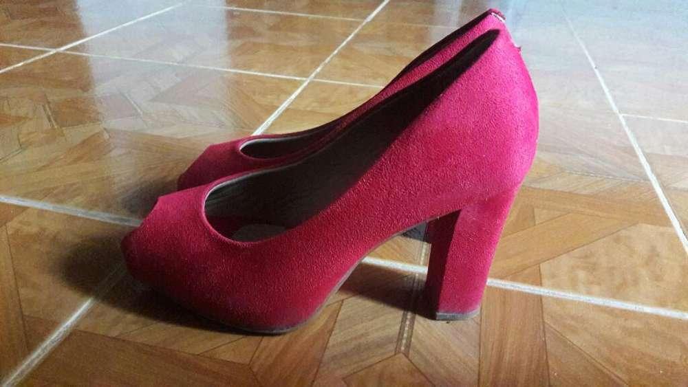 Zapatos Brasileños Talla 36 Poco Uso