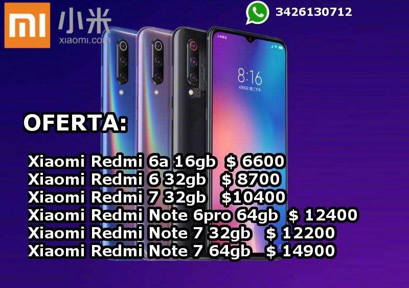 Celulares Xiaomi Libres