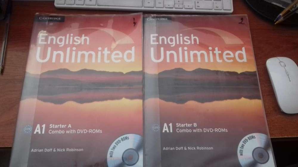LIBRO DE INGLES UNLIMITED A1