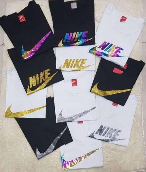 Remeras Nike Brillo