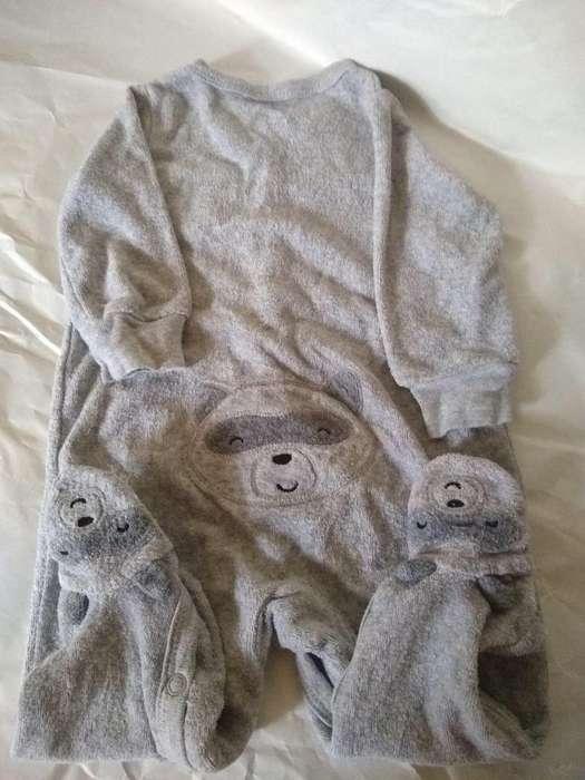 Pijama 6m Carters Lote 2 Panalero M-larg-pie use 1 vez