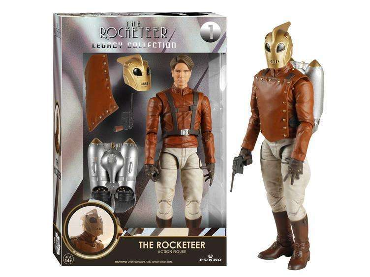 Figura Funko Legacy Collection The Rocketeer. Tamaño 16cms.