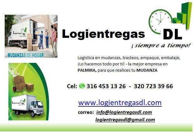 MUDANZAS Y TRASTEOS PALMIRA 3164531326 3207233966