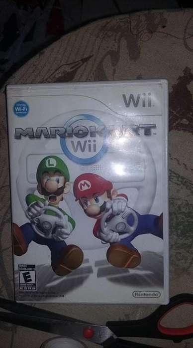 Disco juego de nintendo wii Mario Kart excelente estado con manual