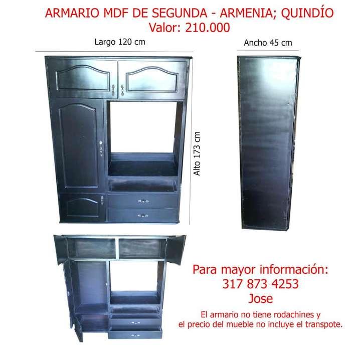 ARMARIO MDF EN EXCELENTE ESTADO