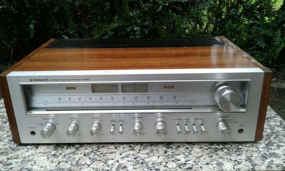 sintoamplificador pioneer sx650 JAPAN