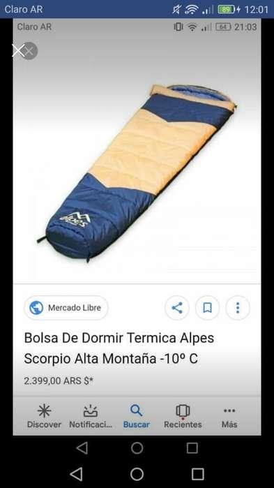 Bolsa de Dormir Alpes Nueva
