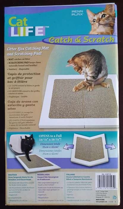 Juguete Rascador Plegable Importado para <strong>gato</strong> Cat Life Catch & Scratch