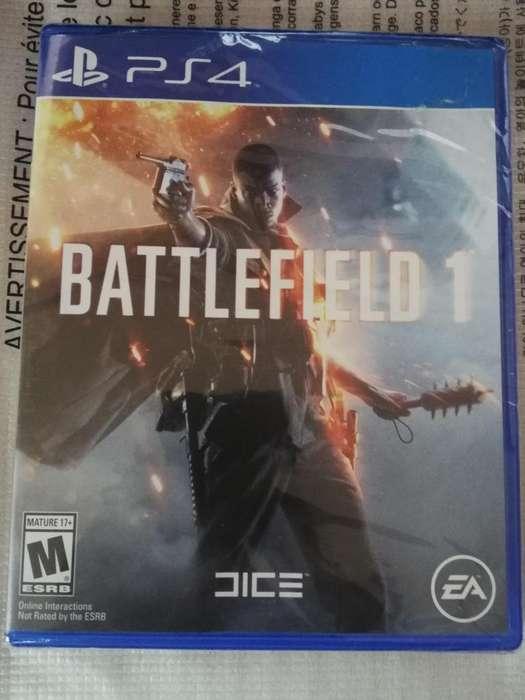 Battlefield 1 Para Ps4 Juego Fisico Nuevo Sellado