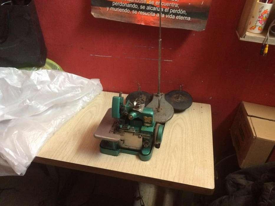 Maquina de coser Overloock Butterfly 3 hilos