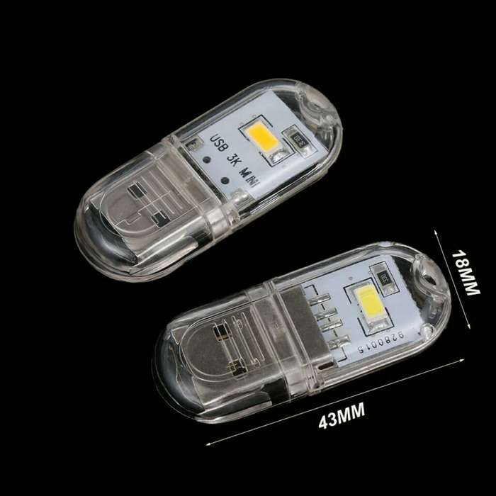 Mini Usb Led Portatil 3k 3-7v