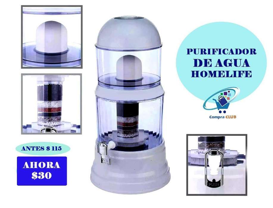 Purificador de Agua Homelife Filtro 30