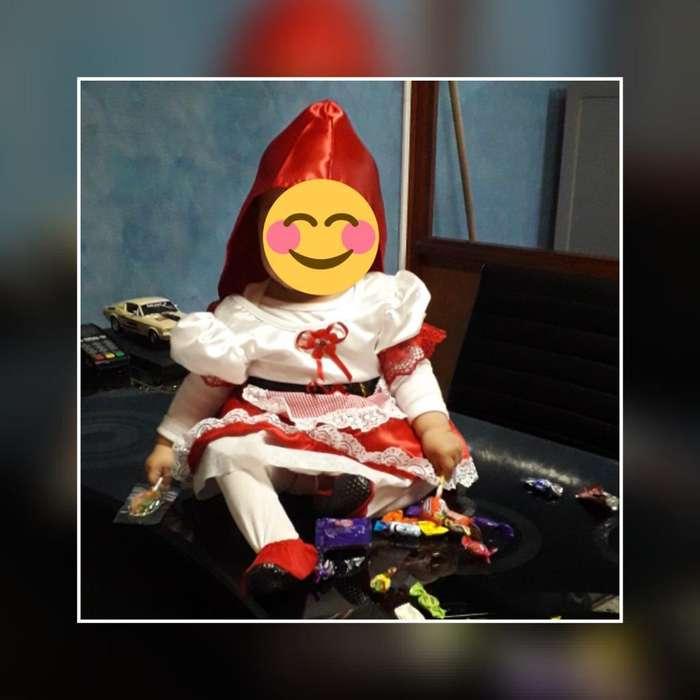 Disfraz Caperucita Bb 12 Meses
