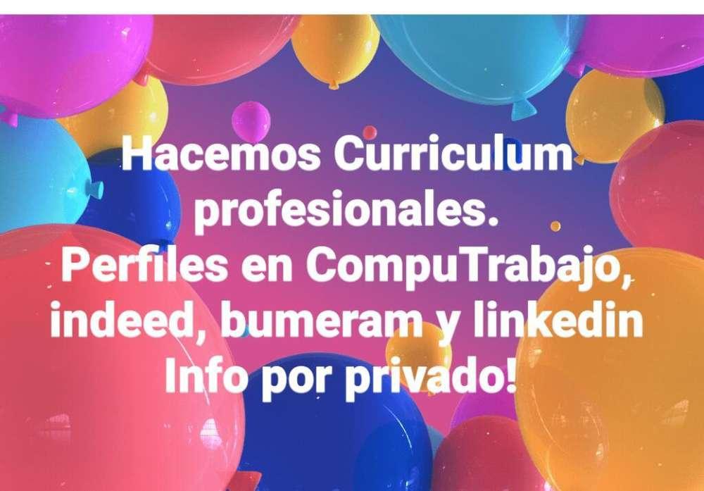 Curriculum Profesionales