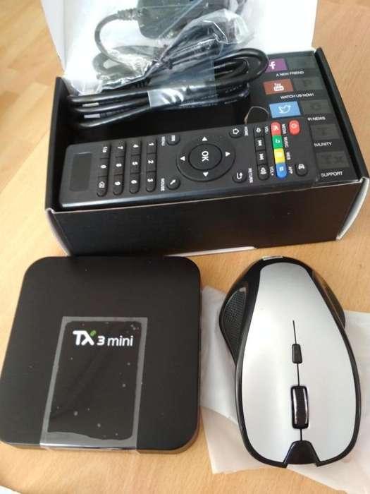Tvbox Tx3 Mini A 1gb/16gb Con Mouse Inalambrico