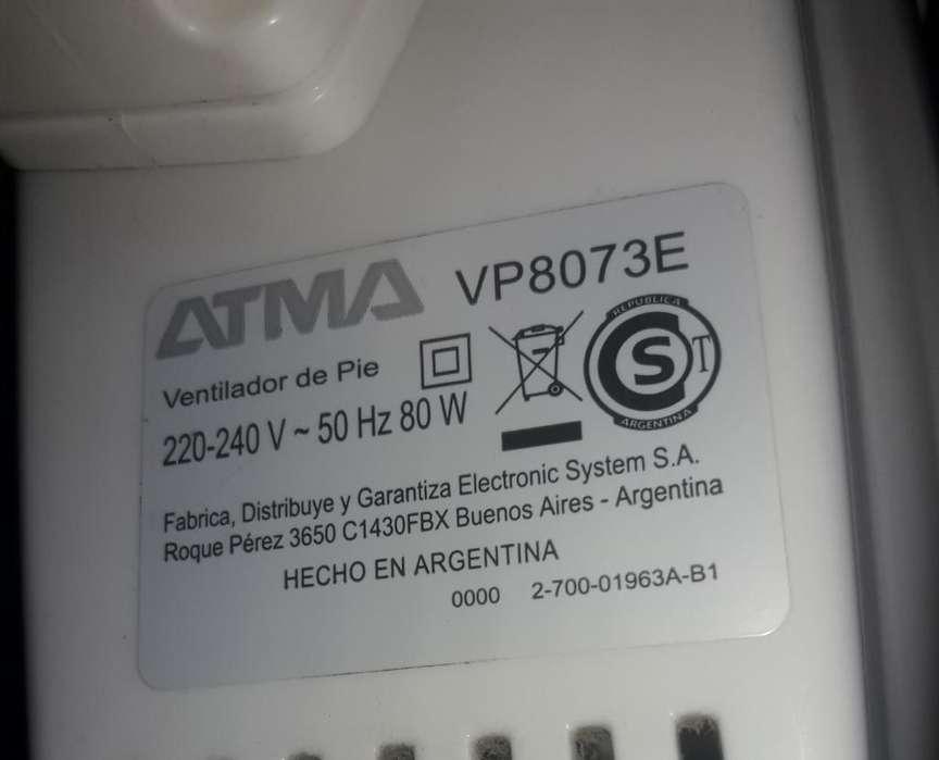 Ventilador de Pie Atma , V8073 E 80 Watt