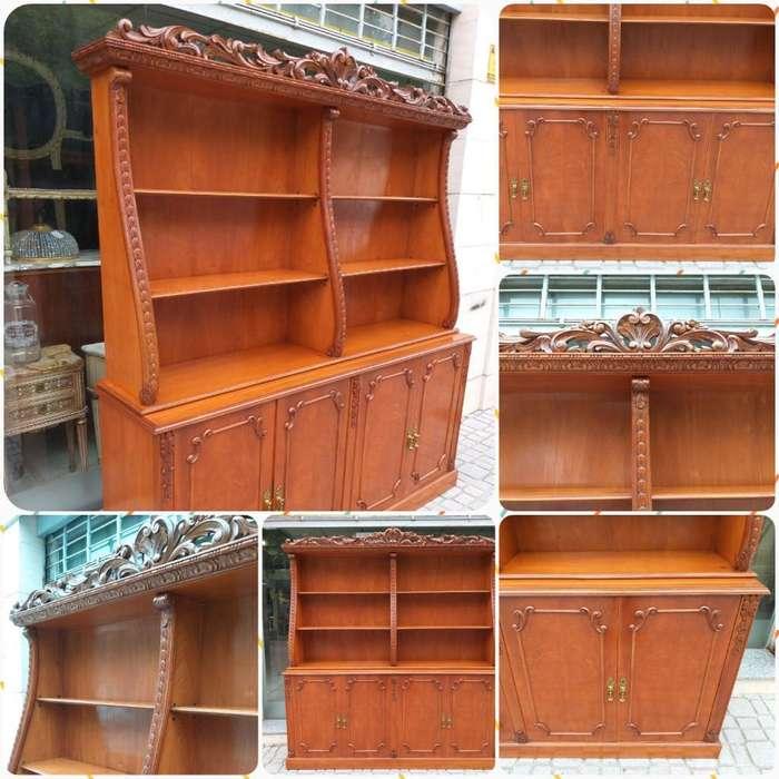 Aparador Biblioteca Antigua Luis Xvi