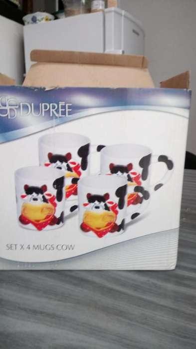Set de Mugs vacas