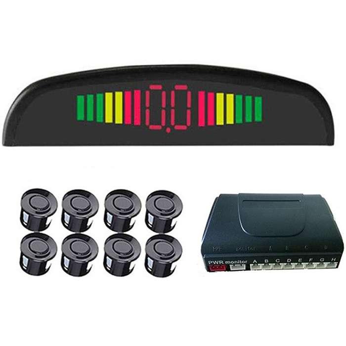 Monitor sensor delantero y trasero para estacionamiento autos.