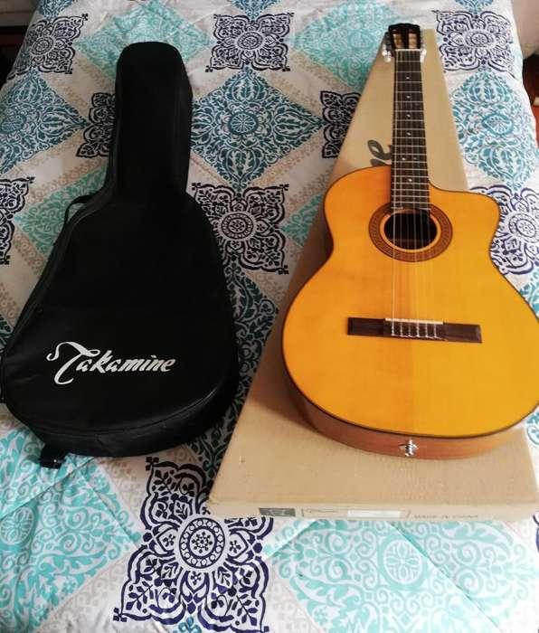 Guitarra Electroacústica Takamine Nueva