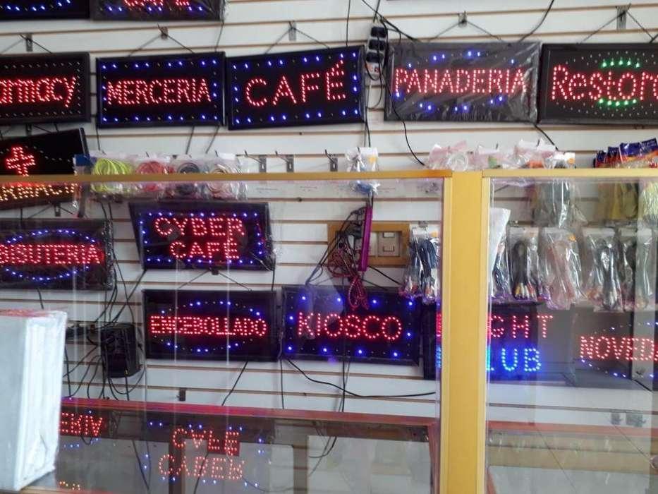 letreros LED