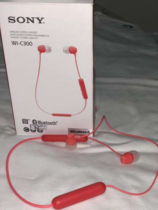 NUEVOS Audífonos Sony Bluetooth WI-C300