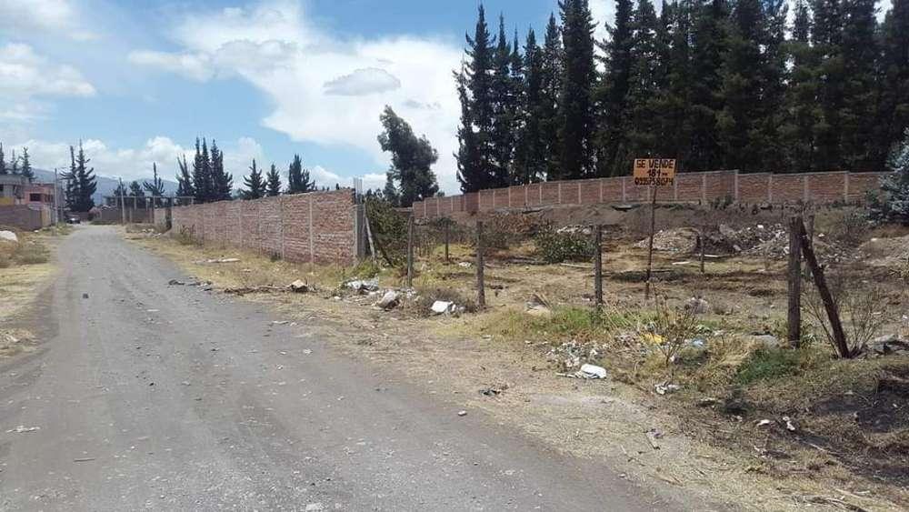 Vendo Terreno en Riobamba