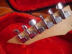 BC RICH Warlock con Hard Case! Guitarra Eléctrica
