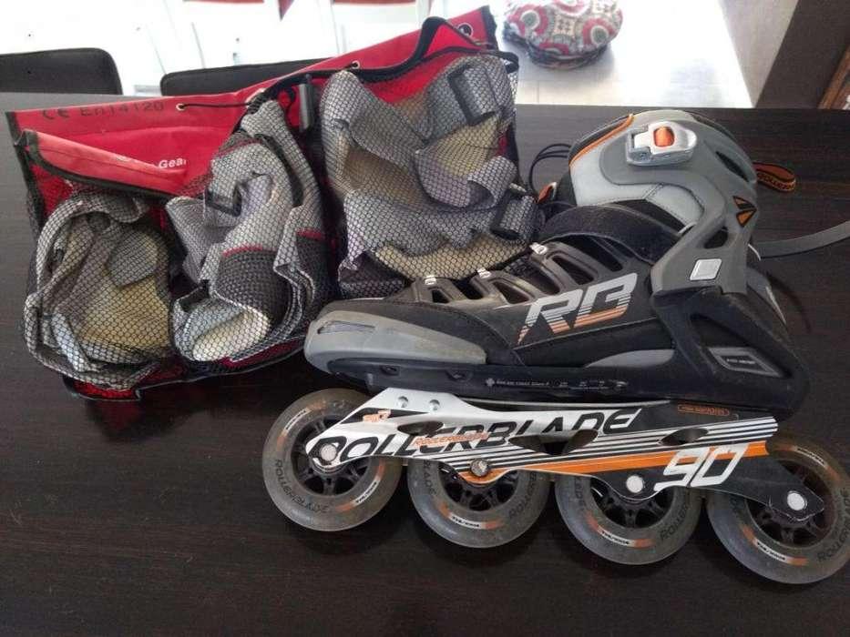 Patines Rollers Rollerblade Crossfire 90 Casi nuevos