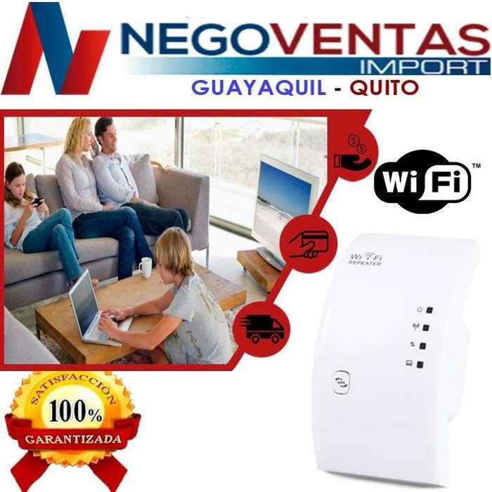REPETIDOR DE <strong>wifi</strong> ECONOMICO ALANCE HASTA 50 MTS