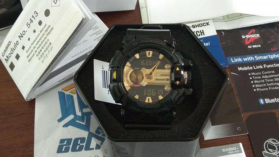 casio G-Shock GBA-400-1A9CR G'Mix Bluetooth