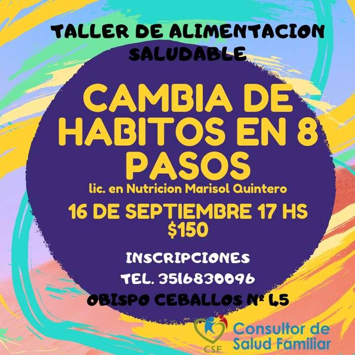 TALLERES DE ALIMENTACION SALUDABLE