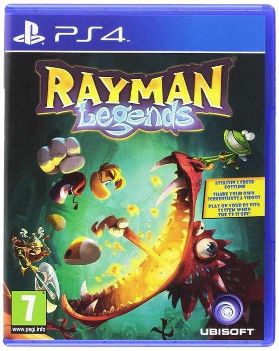 Vendo Cambio Rayman Ps4
