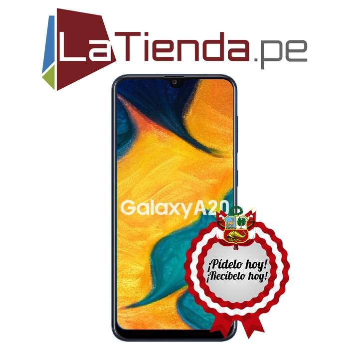 Samsung Galaxy A20 - 32GB de almacenamiento interno