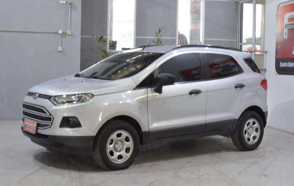 Ford Ecosport 1.6l 4X2 se nafta 2013 color gris claro