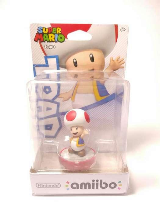 Amiibo Toad Peach Usa Nuevo Original