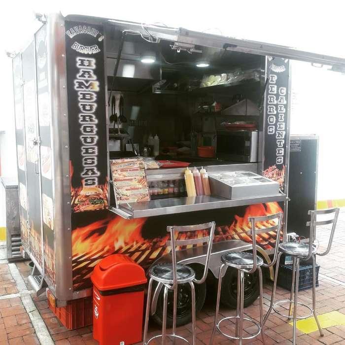 Trailer Food Truck Fibra de Vidrio