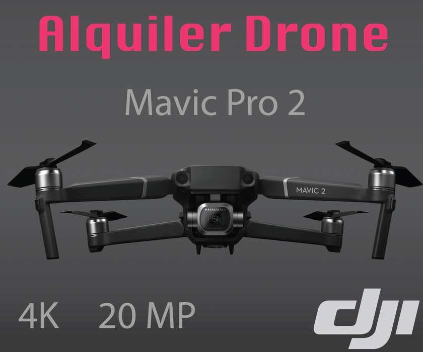 Alquiler Drone Mavic Pro 2