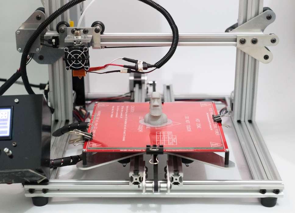 Impresora 3D Lógica Viva 20x20x20 Memoria SD Software LV3D