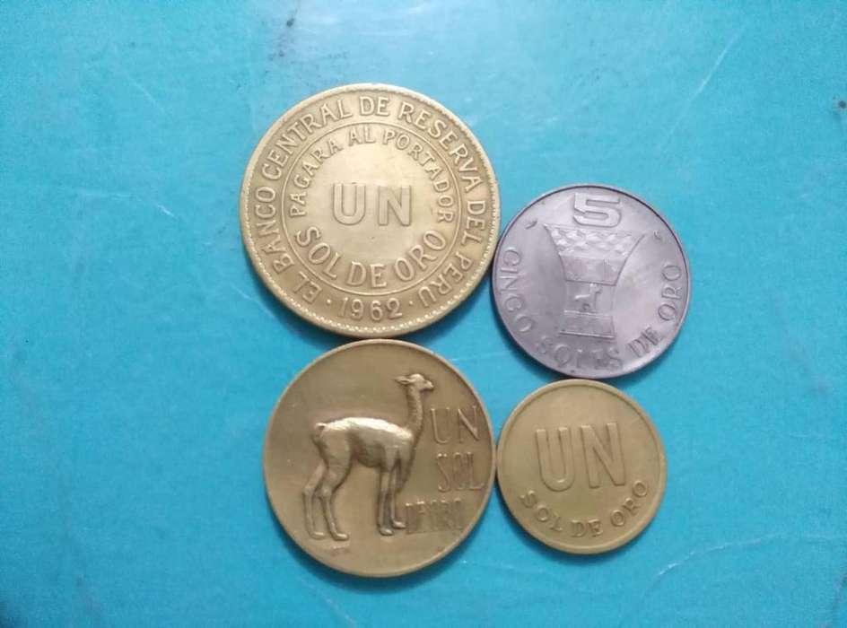 Monedas antiguas de colección del Perú